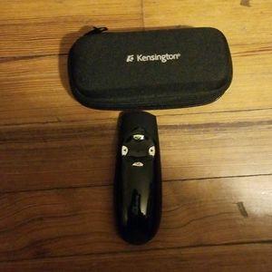 Kensington, wireless, pointer, green light